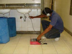 Detecção de Vazamento